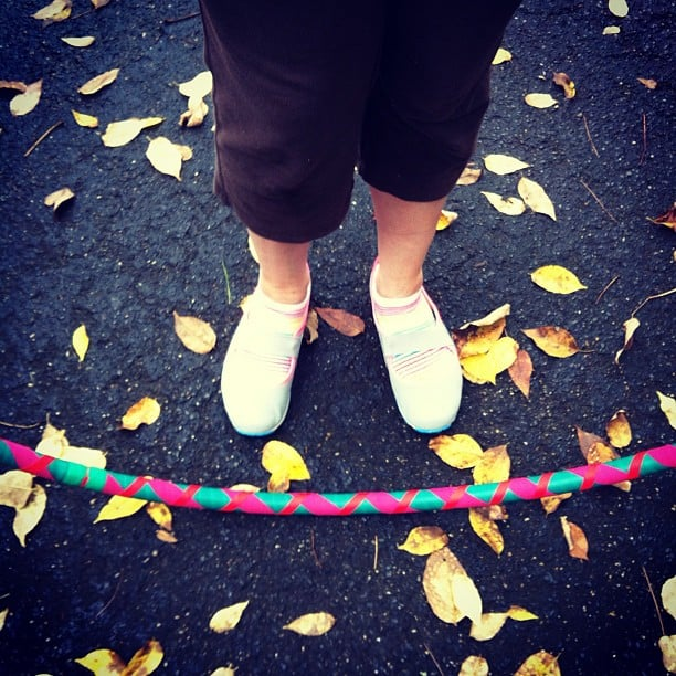 Hooping in the fall is pretty