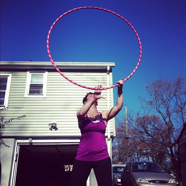 Hooping again... and some links to get you started if you want to hoop too!