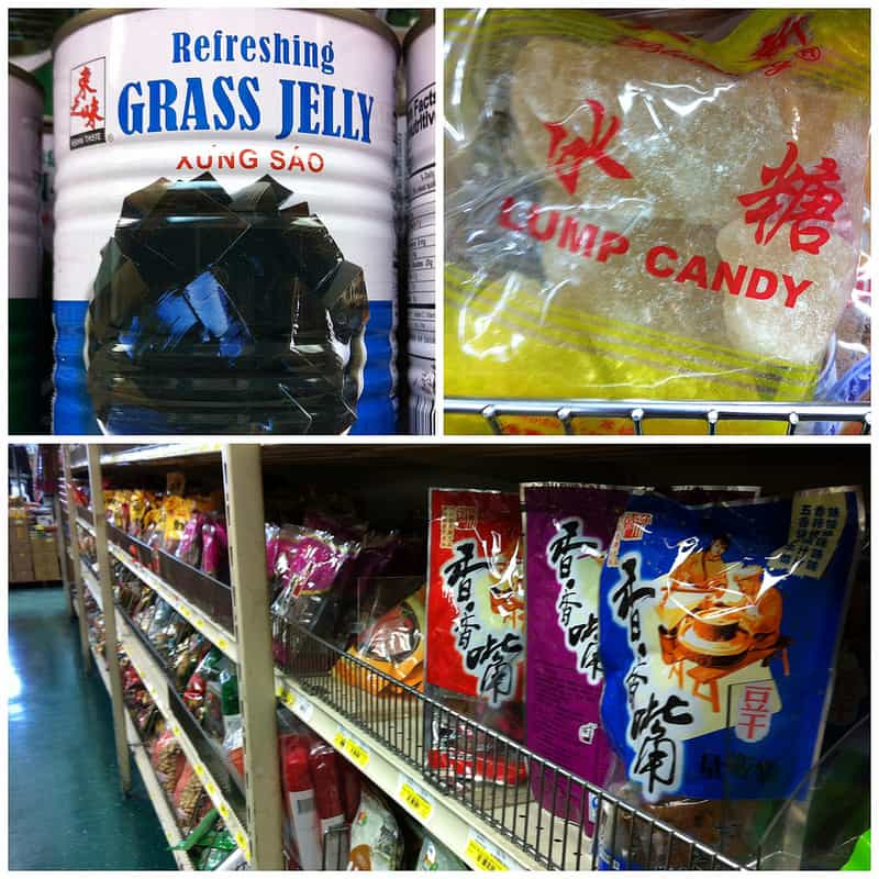 A trip to the Asian grocery store.