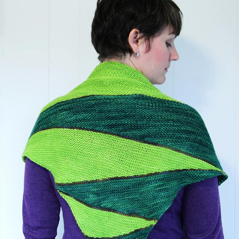 A new shawl to wear and love!