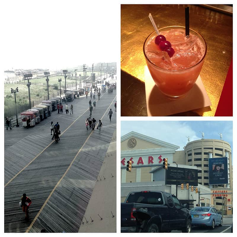 A trip to Atlantic City.