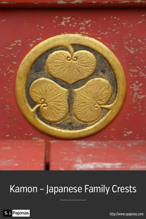 Kamon - Japanese Family Crests - Japanese family crests, kamon, are used everywhere. #Japan