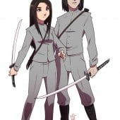 Sanaa and Jiro ready for battle.