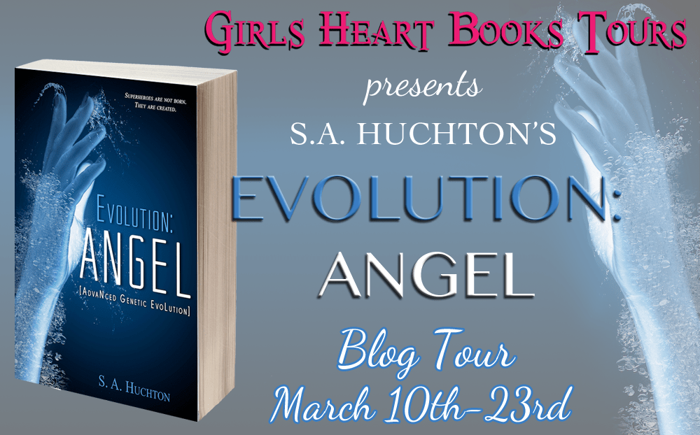 EVOLUTION ANGEL by S. A. Huchton