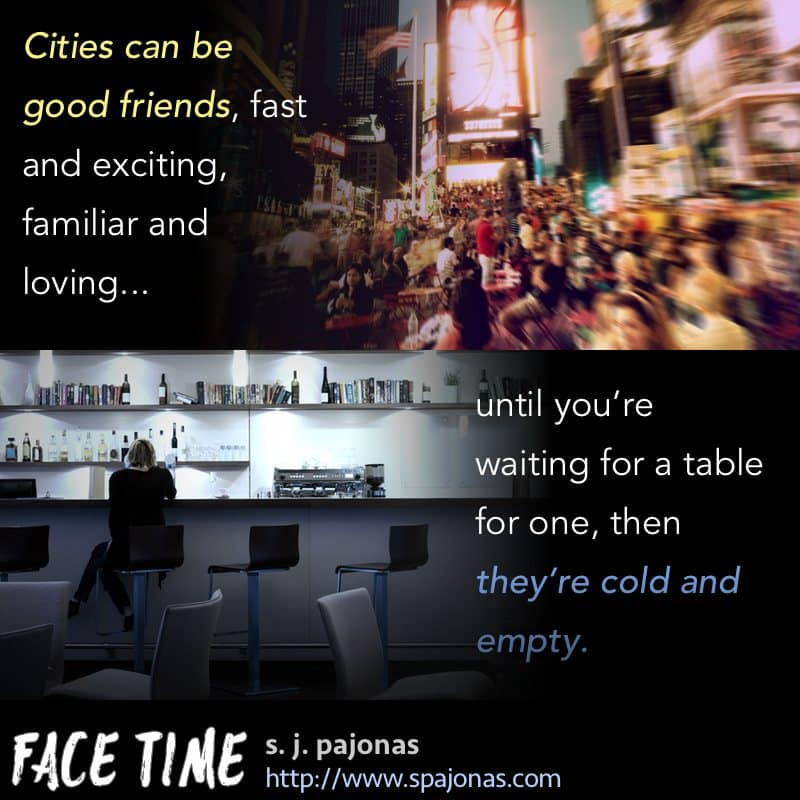 A teaser for FACE TIME.