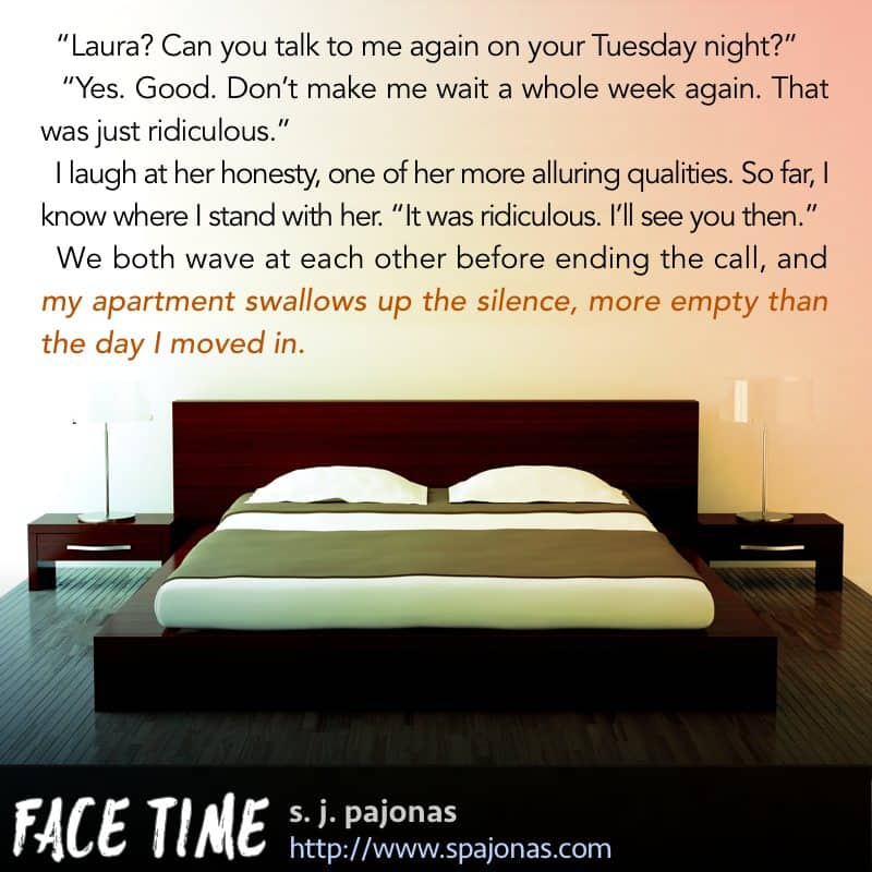 Another teaser for FACE TIME.