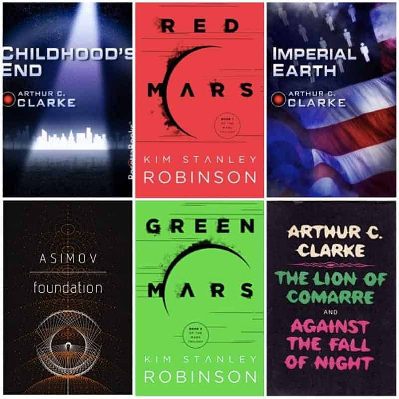 If you're thinking about checking out science fiction, here are my recommendations for hard science fiction!