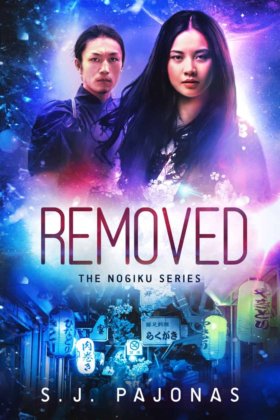 REMOVED is free for 2019! Pick up this science fiction romance series starter and get sucked into the Nogiku universe with Sanaa and Jiro.