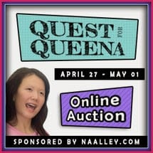 Join the #QuestForQueena and bid on these awesome writer bundles! 100% of proceeds go to Queena and her family.