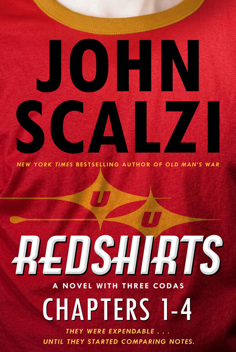 I finished REDSHIRTS by John Scalzi and #amreading another Susan Kaye Quinn book!