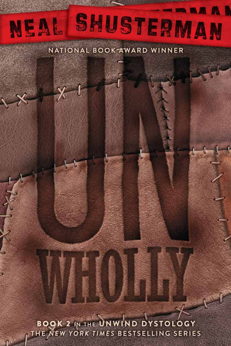 UNWHOLLY by Neal Shusterman was awesome and my new audiobook by John Scalzi is great too. But I had a book I DNF'ed at 55%. Sigh. Can't win them all.
