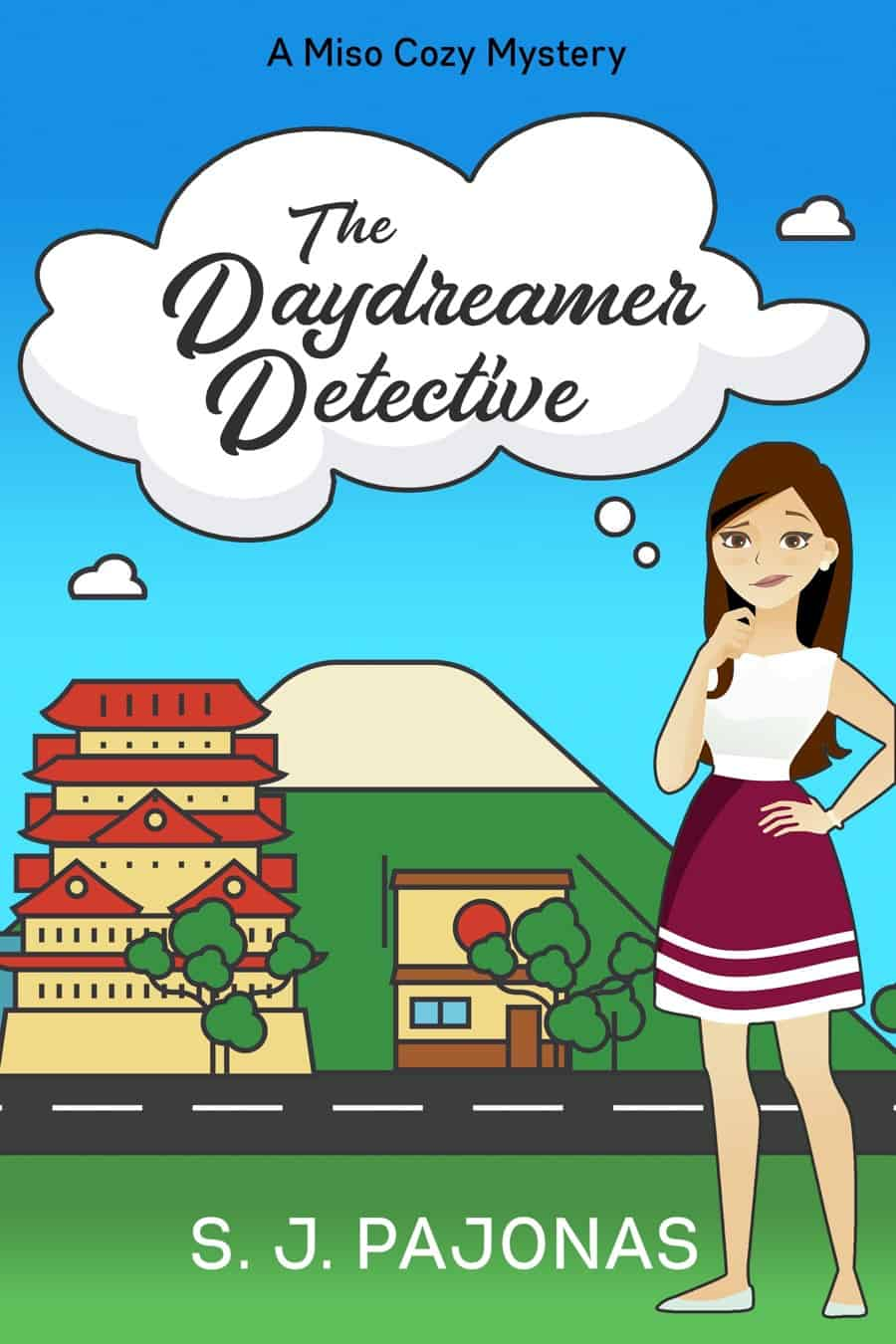 Get this #cozymystery set in Japan!
