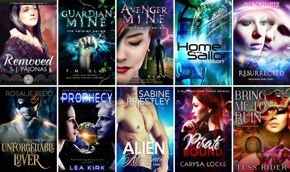 ENTER THIS SCIFI ROMANCE PAPERBACK GIVEAWAY!