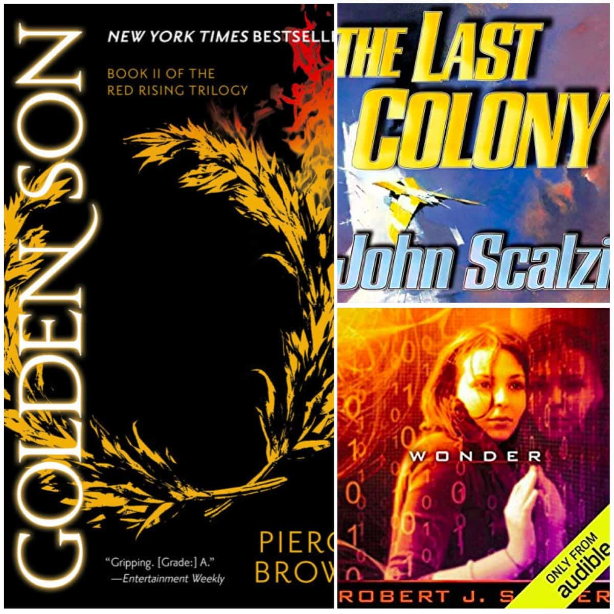 Book Chat #27 - Two Scifi Recommended Reads Plus John Scalzi