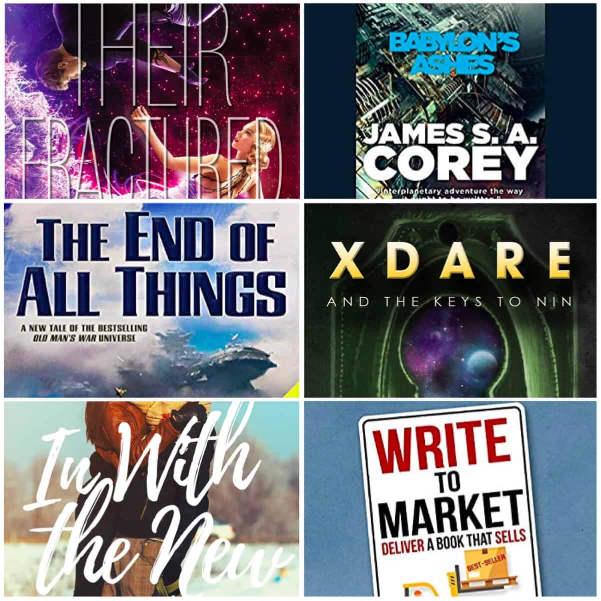 Lots of great books read this month! Including THEIR FRACTURED LIGHT, X DARE, plus audiobooks from The Expanse Series and John Scalzi.