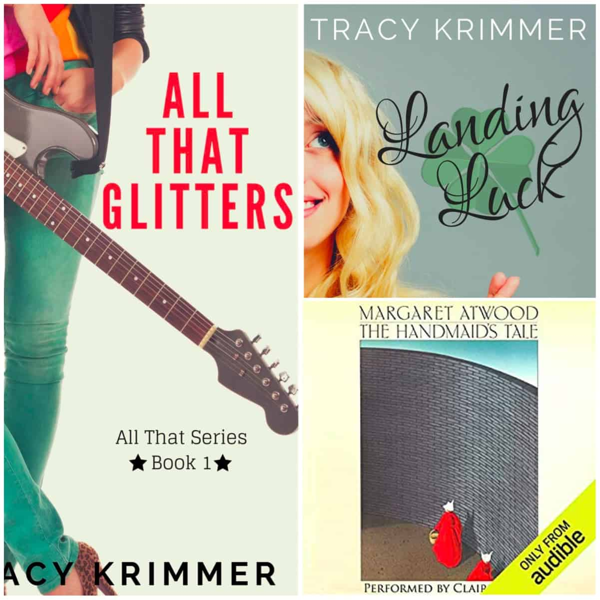 This month we have books by Tracy Krimmer and Margaret Atwood.