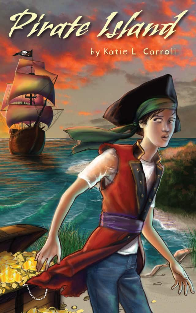 It's time for the cover reveal for PIRATE ISLAND by Katie L. Carroll! I can't wait to read this with my kids.