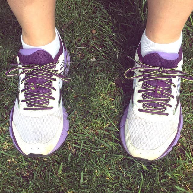 The time for my Purple Mizunos is at an end. Where did these shoes go this year? And how far?