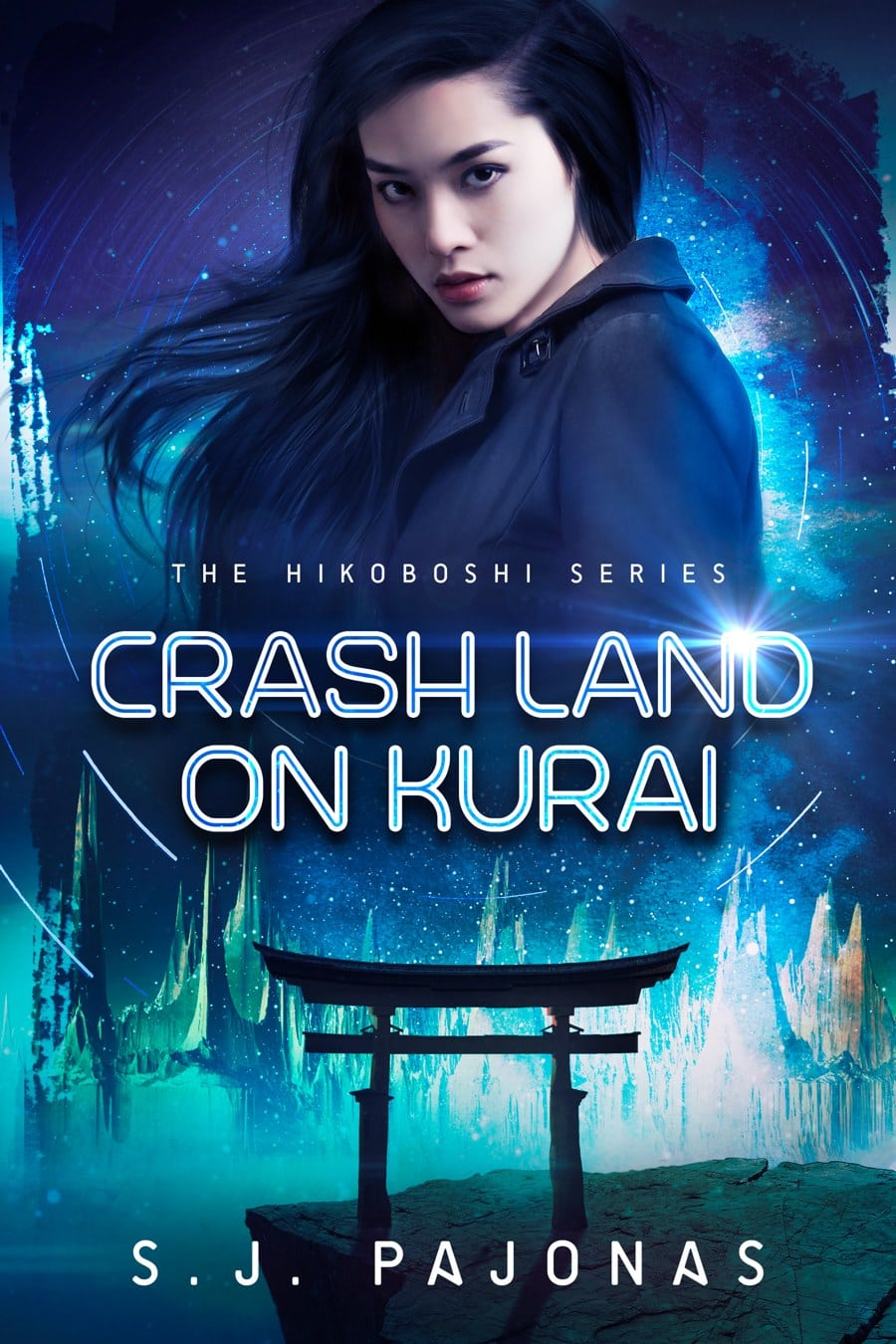 CRASH LAND ON KURAI is now available on Apple Books, Nook, Kobo, and Google Play.