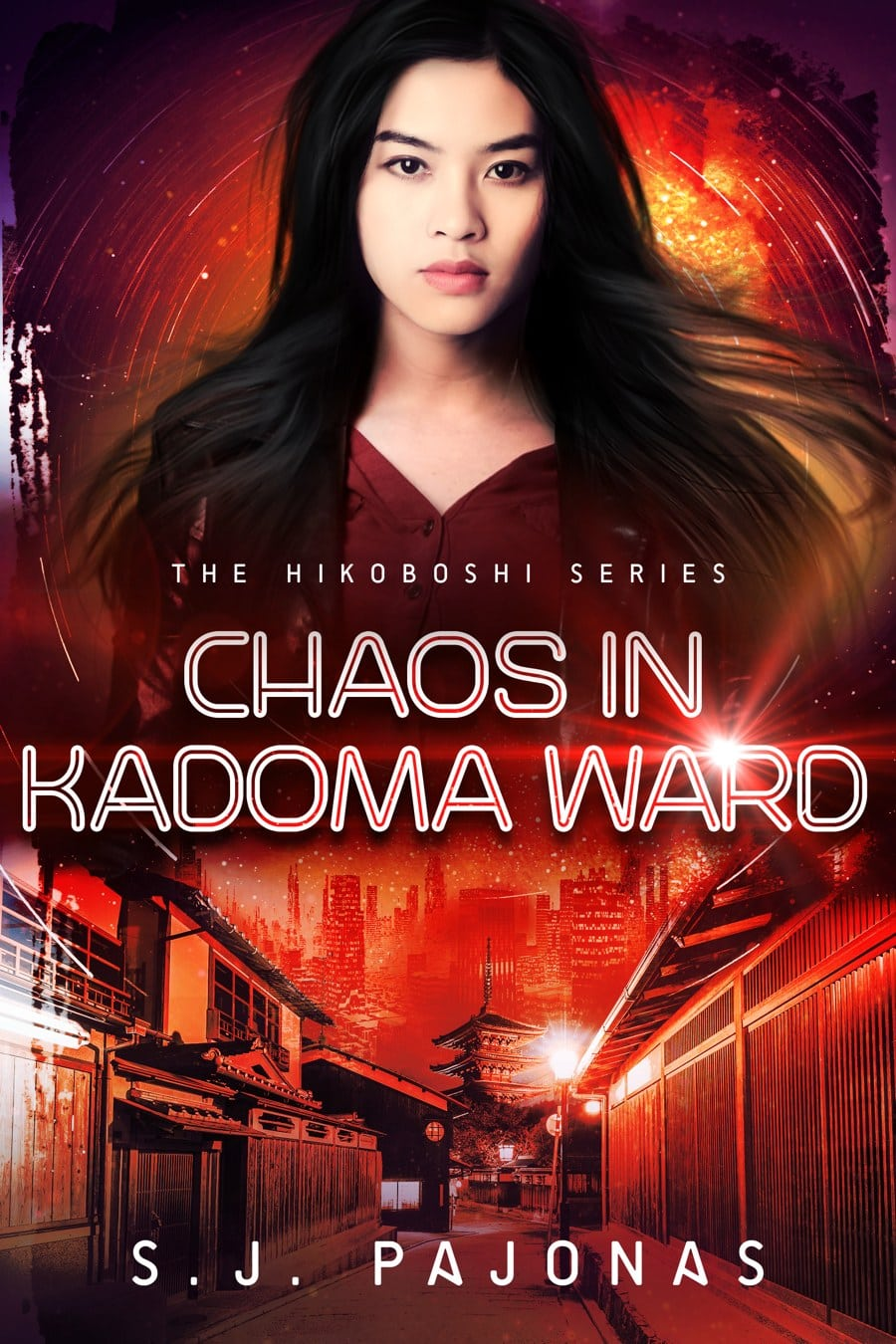 See the cover, read the blurb, and pre-order CHAOS IN KADOMA WARD, the second book of the Hikoboshi Series!