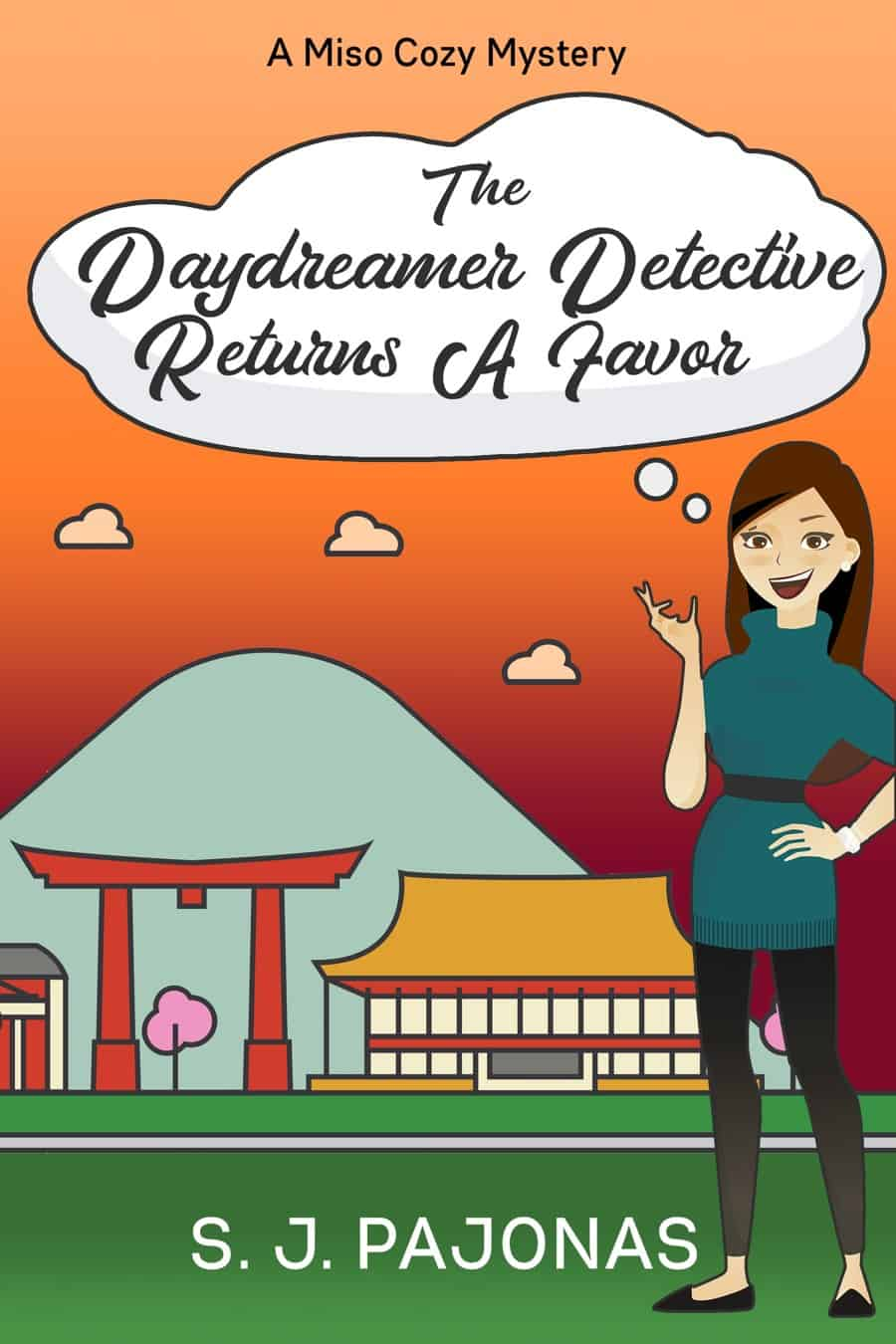 It's Release Day for THE DAYDREAMER DETECTIVE RETURNS A FAVOR! You can now purchase this cozy mystery on Amazon, Nook, Apple Books, Kobo, and Google Play.