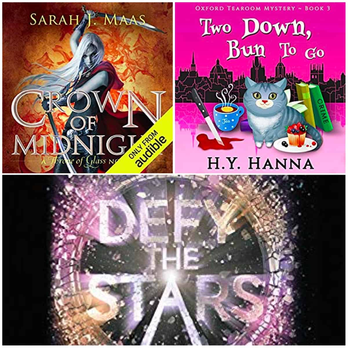 In this Book Chat, no kindle reading (I appear to be in a slump!) but audiobooks by Sarah J. Maas, H. Y. Hanna, and Claudia Gray. Lots of great listens!