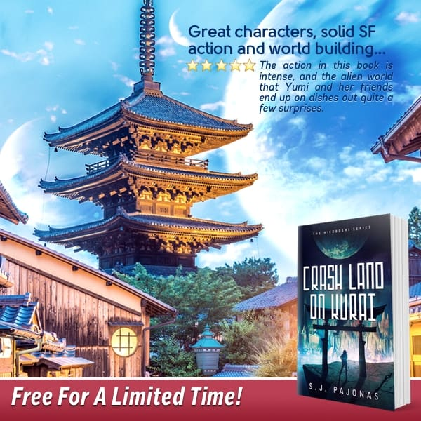 Get CRASH LAND ON KURAI free on Amazon, November 13-17th. Start this series today!