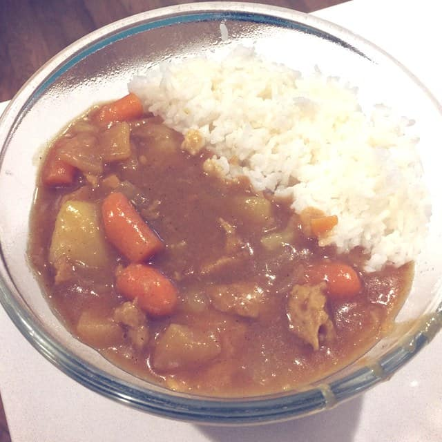 This is my favorite Japanese curry recipe and a staple dish in my house. You'll want to try this curry. Really. It's awesome for a winter day!