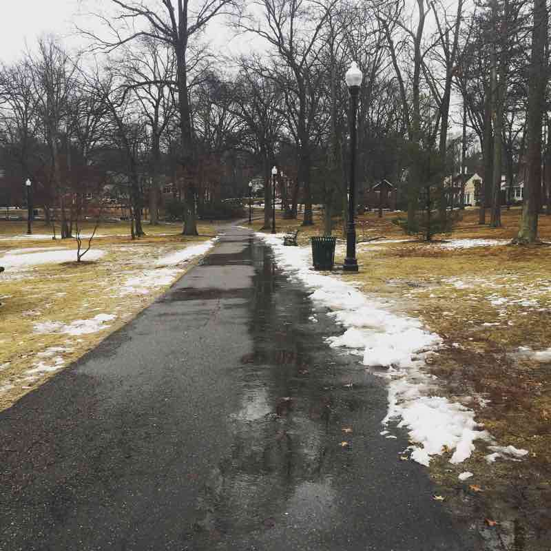 All the things that happened in the week ending February 25, 2018 including the melting of snow, a trip to see my grandparents' house, donuts and pop tarts, and plenty of writing!