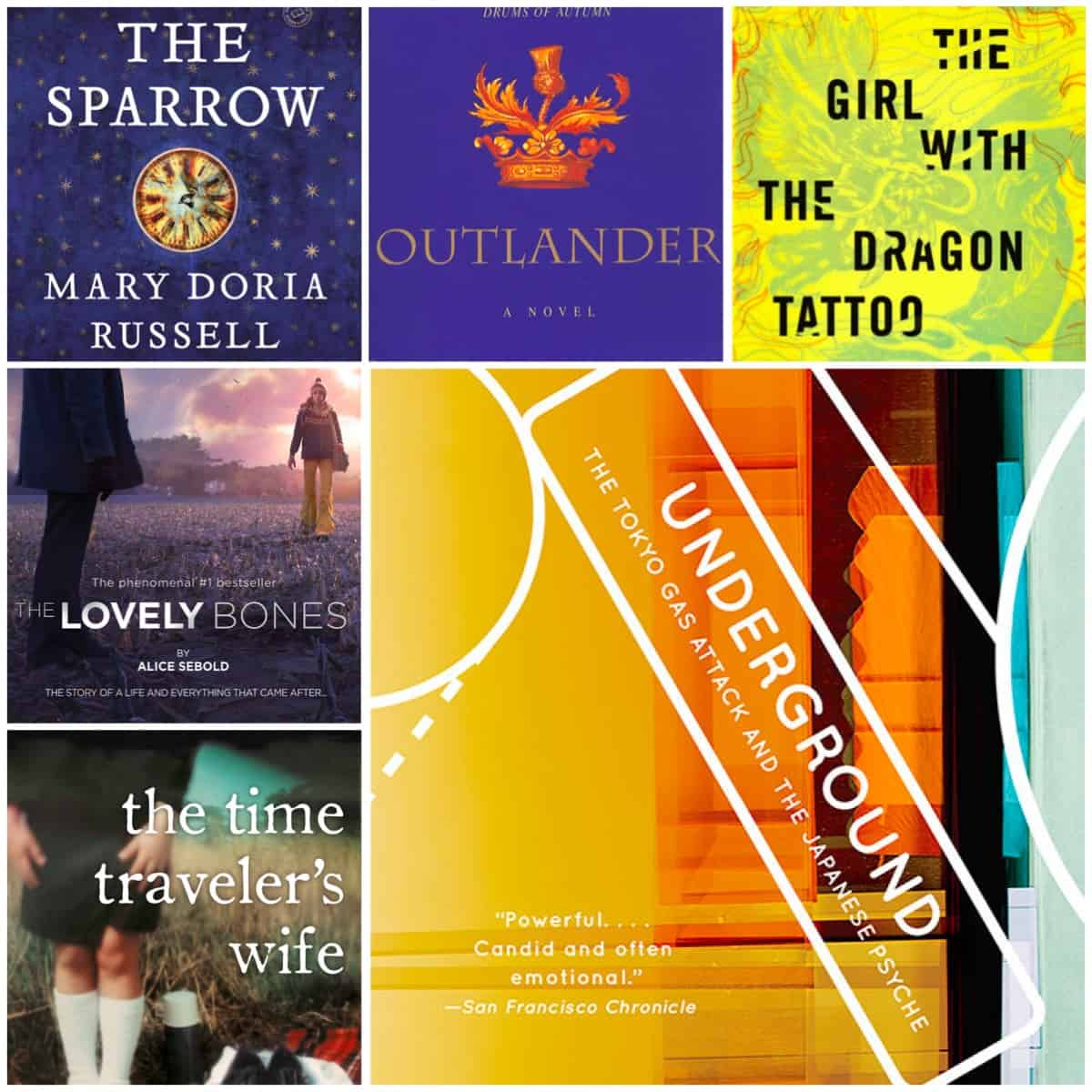 This was a hard one! Here are my top 10 books I loved but will never re-read...