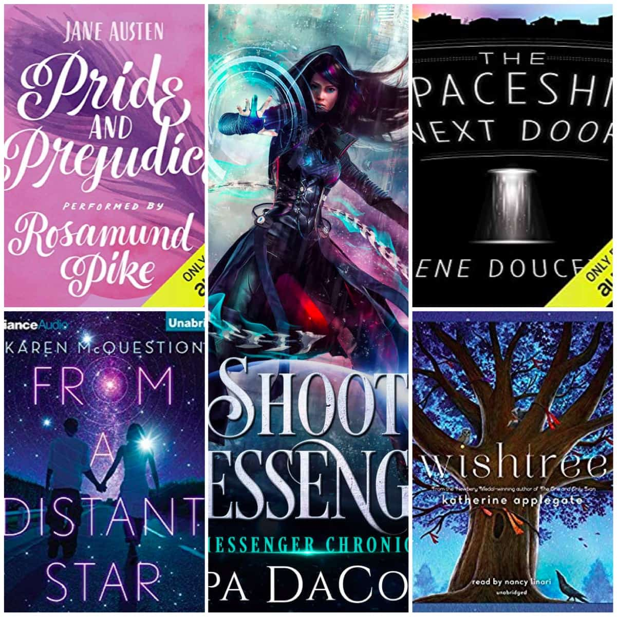 I got some actual reading done on my Kindle! And there were also plenty of audiobooks listened to in the past few months including a new favorite YA sci-fi book!