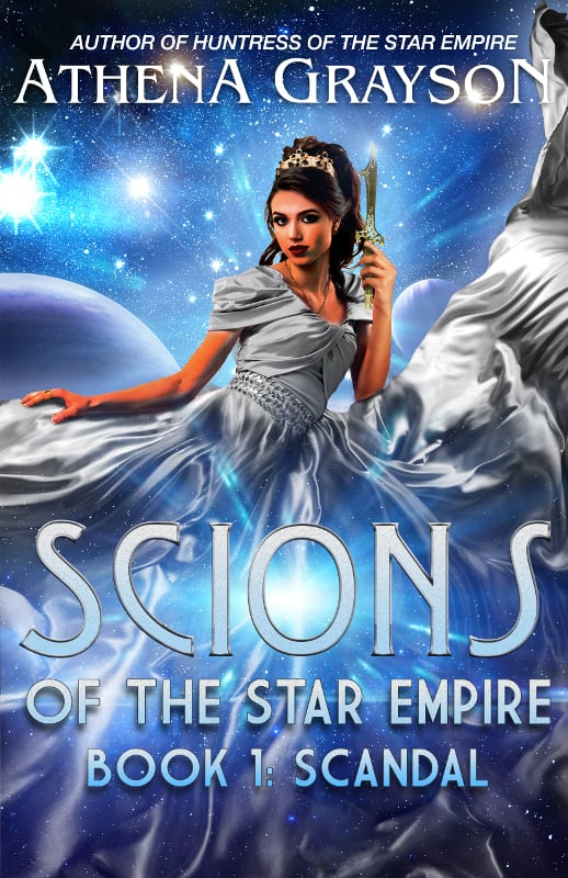 "Check out this science fiction romance, SCANDAL, by Athena Grayson. ""On the surface, princess Ione Ra and her friends seem to have it all. Money, power, fame..."""