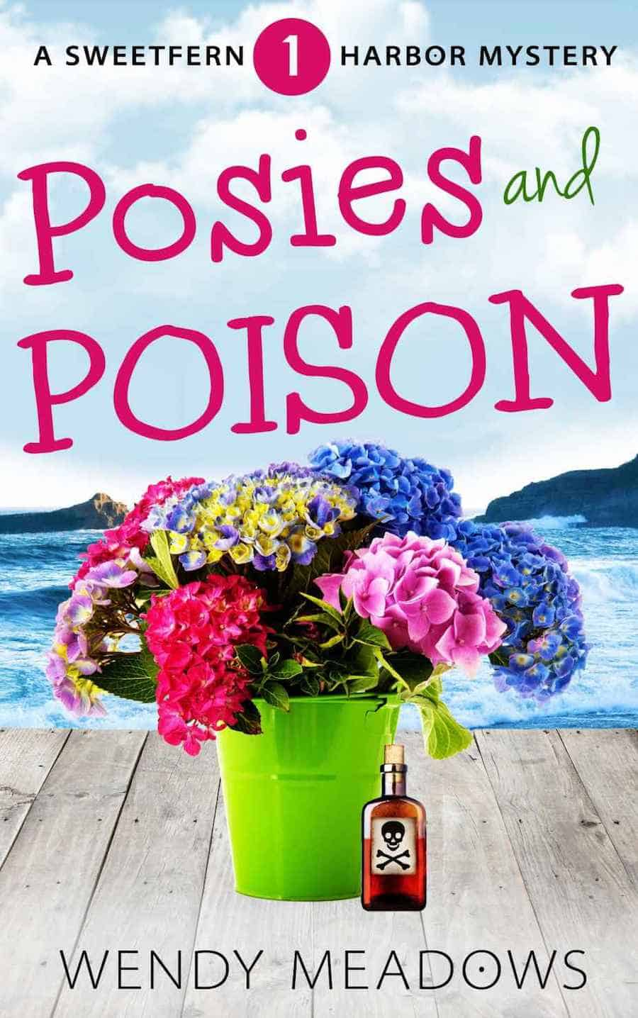 "Check out this cozy mystery, POSIES AND POISON, by Wendy Meadows. ""When Brenda Sheffield receives the letter from Edward Graham she knows her life will change drastically..."""