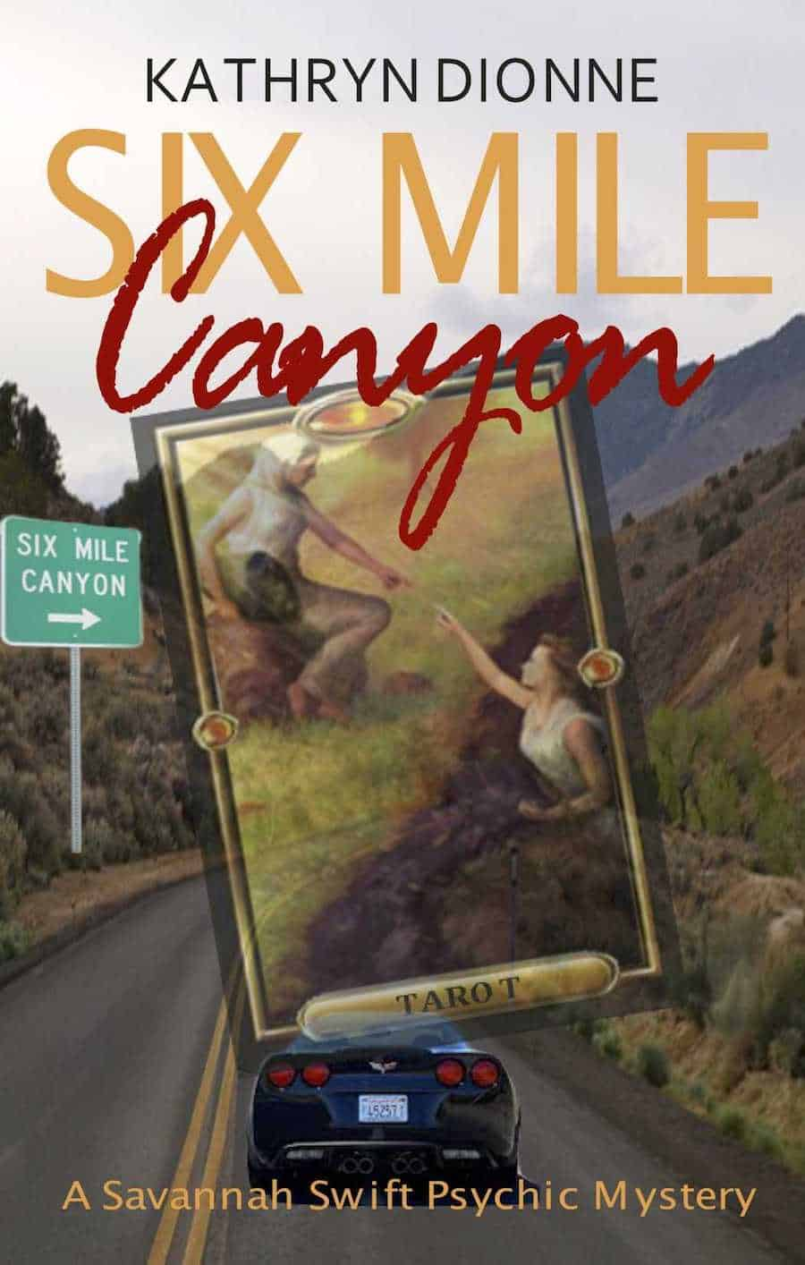 "Check out this cozy mystery, SIX MILE CANYON, by Kathryn Dionne. ""With the help of her two best friends, Jade and Emma, Savannah discovers something remarkable about herself..."""