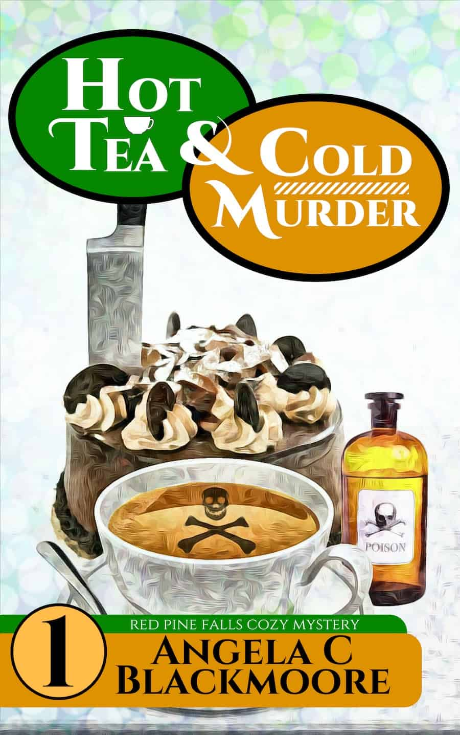"Check out this cozy mystery, HOT TEA AND COLD MURDER, by Angela C. Blackmoore. ""Struggling from the loss of her husband, Abby Morgan finds herself trying to find a new life in a small Oregon town..."""