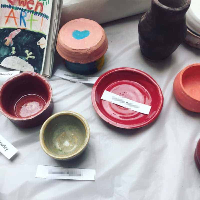 Everything that happened in the week ending August 19, 2018 including pottery camp, ants, my website audit, and new yarn!