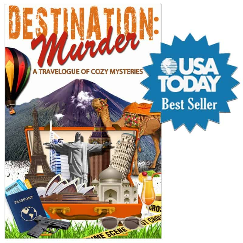 Coming in at #119 on the USA Today Best Seller List, DESTINATION: MURDER has made me a best seller!