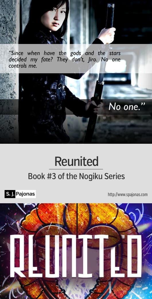 As Sanaa and Jiro grapple with a mysterious planet and deadly enemies... Purchase REUNITED on Amazon, iBooks, Nook, Kobo, Google Play, and Direct today! #scifi #sciencefiction #scifirom #scifiromance