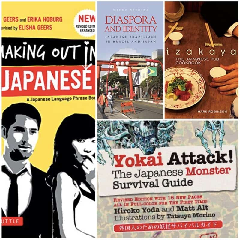 In this Top Ten Tuesday, it's back to school time to learn more about Japan!
