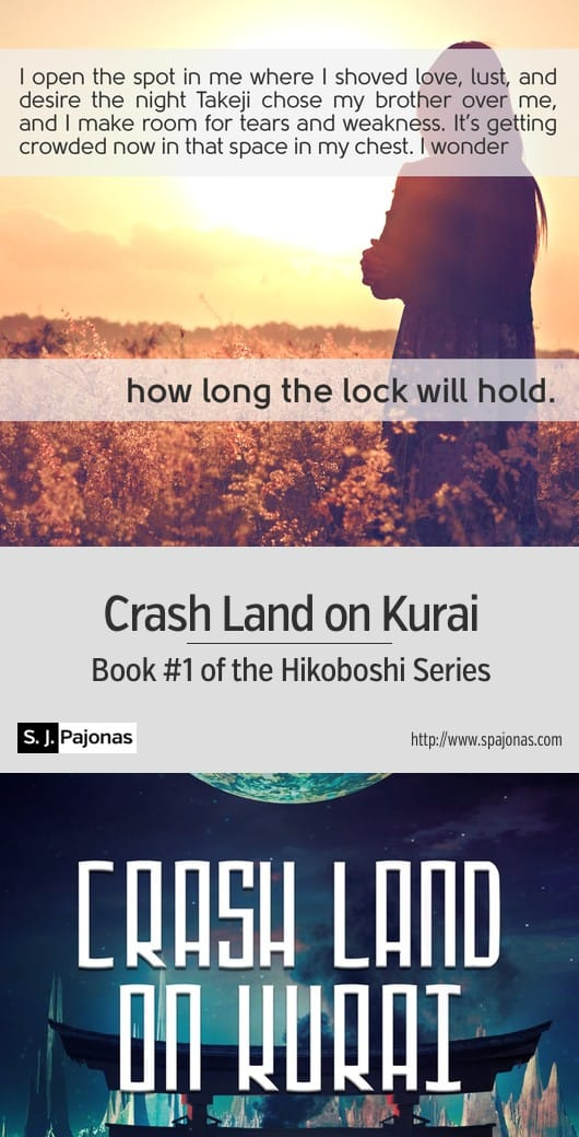 Crash landing on a dying, foreign moon is easy. Surviving until rescue comes? A lot harder. A mix of Japanese culture with a futuristic/sci-fi world, CRASH LAND ON KURAI is the first book of the Hikoboshi Series. #scifi #ebook #sciencefiction