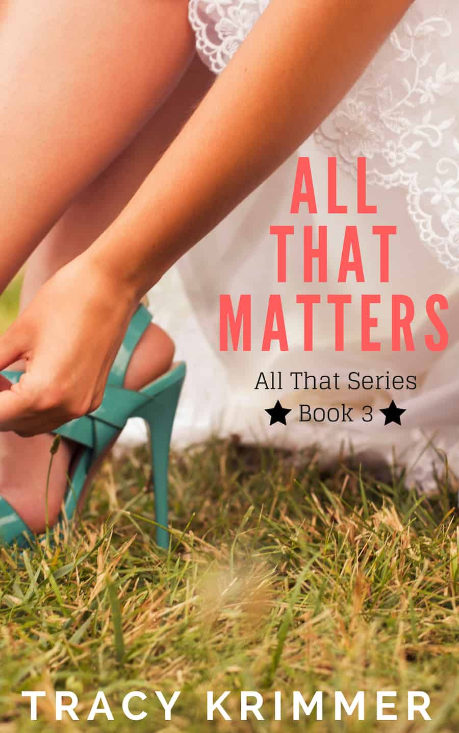"Check out this lovely final book in the ALL THAT series, ALL THAT MATTERS, by Tracy Krimmer. ""Dory Walker finally has both feet on the ground and looks forward to one thing only--becoming Mrs. Harris Malone..."""