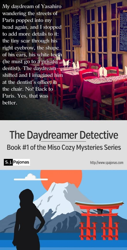 It's a cozy mystery in Japan! Mei Yamagawa is out of good luck, and she must help solve a murder in her hometown... THE DAYDREAMER DETECTIVE is the first book in the Miso Cozy Mysteries Series. #ebook #mystery #cozymystery #japan