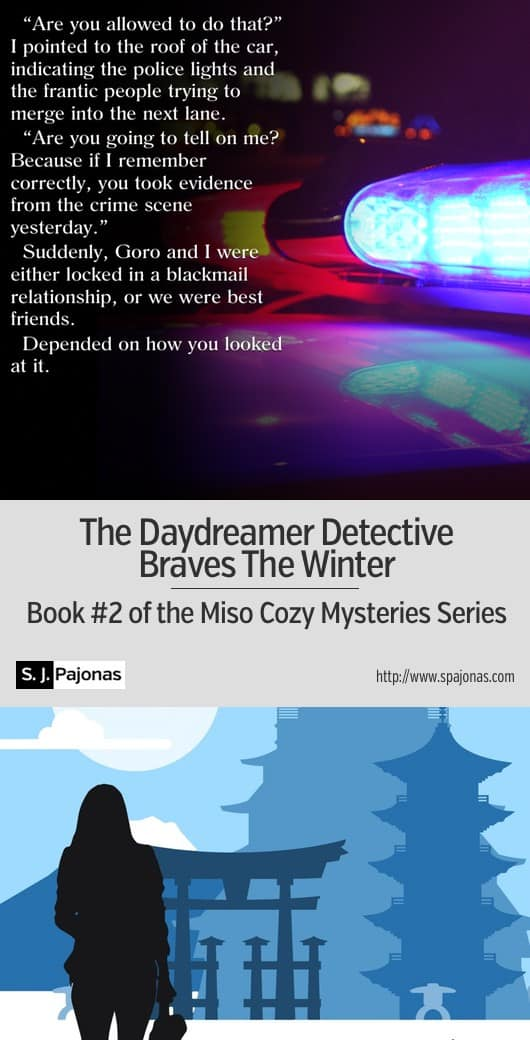 Return to Chikata with Mei and Yasahiro! When a new friend is found dead, Mei vows to help solve the crime... THE DAYDREAMER DETECTIVE BRAVES THE WINTER is the second book in the Miso Cozy Mysteries Series. #ebook #mystery #cozymystery #japan