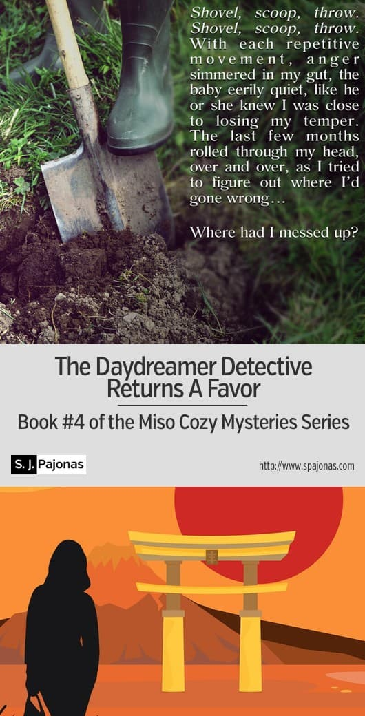Mei has a favor to return, and it leads to the mystery of a long-gone runaway. THE DAYDREAMER DETECTIVE RETURNS A FAVOR is the fourth book in the Miso Cozy Mysteries Series. #ebook #mystery #cozymystery #japan