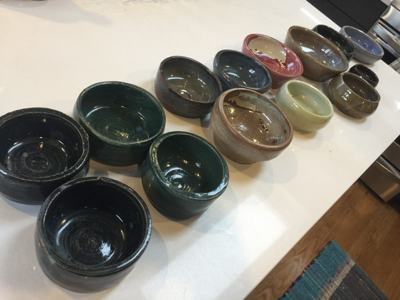 I made some significant progress with pottery this fall! (Video)