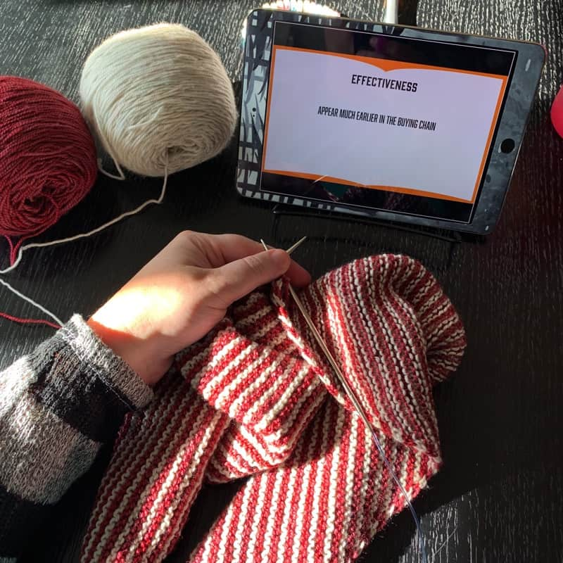 All the things that happened in the week ending January 13, 2019 including a bright week of weather, my youngest falling ill, and more knitting!