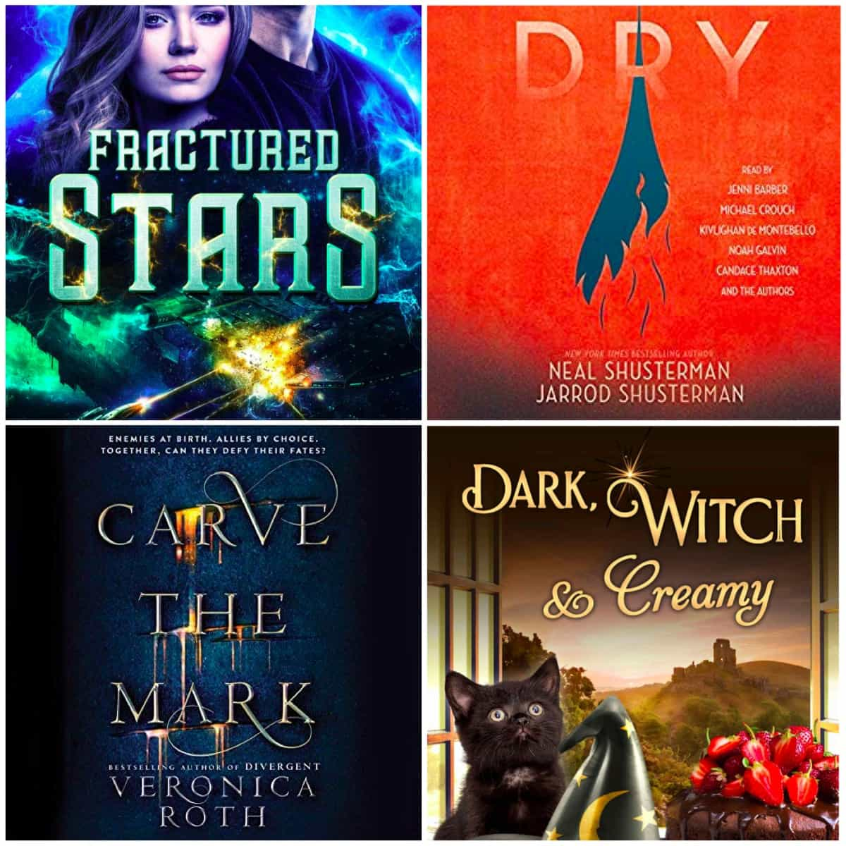 In this Book Chat, I have stories by H. Y. Hanna, Lindsay Buroker, Veronica Roth, and Neal and Jarrod Shusterman, all of which I thoroughly enjoyed!