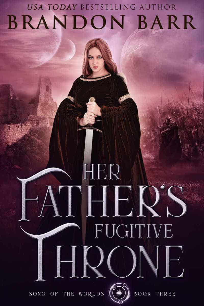 """Check out this epic fantasy, HER FATHER'S FUGITIVE THRONE by Brandon Barr. """"The shadow of the Beast stalks Meluscia's every move..."""""""