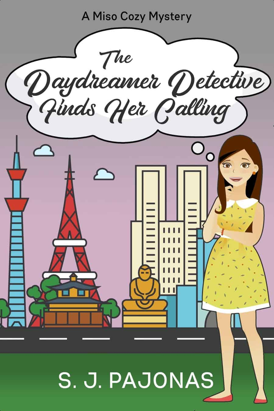 Pre-order THE DAYDREAMER DETECTIVE FINDS HER CALLING on Amazon, Apple Books, Nook, Kobo, and Google Play and get this next installment in the Miso Cozy Mysteries series on March 29, 2019!
