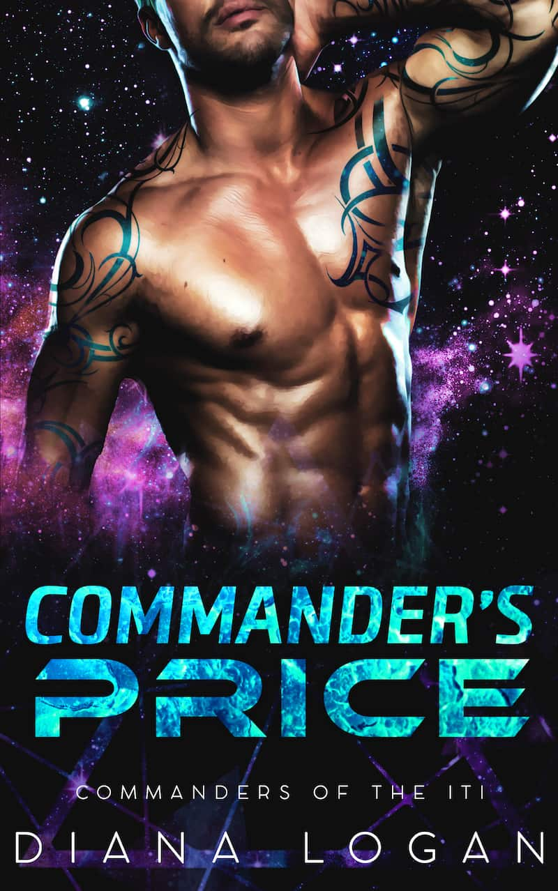 "Check out this fun and sexy sci-fi romance, COMMANDER'S PRICE, by Diana Logan. ""He was the most gorgeous creature to ever walk into Katy's dive bar..."""